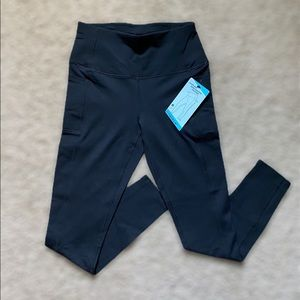 Skechers high waisted black leggings with pockets
